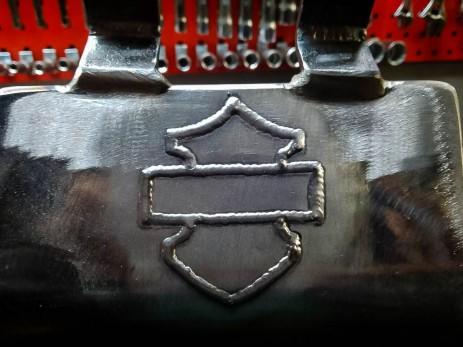 Blacha zabezpieczająca silnik. Projekt i wykonanie H-D Klinika